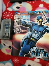 Dc Comics Super Hero Collection Issue #34 - BLUE BEETLE Magazine & Figurine