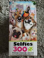 "Ceaco Selfies 300 Piece Jigsaw Puzzle 24"" x 18"" with Puzzle Poster-12 years +"