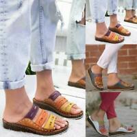 Summer sandals Women Three-color stitching Sandals Fashion
