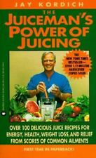 Juiceman's Power of Juicing, Jay Kordich, Good Condition, Book