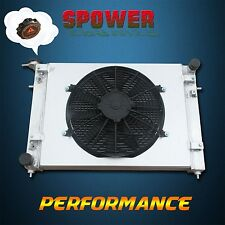 52MM Aluminum Radiator + Fan Shroud For Holden Commodore VN VP VR VS V6 3.8L AT