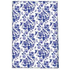 Victoria and Albert Garden Birds 100 Cotton Tea Towel