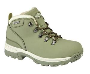 Women's Northwest Territory Red Navy Grey Leather Walking Trekking Boots UK 3 -8