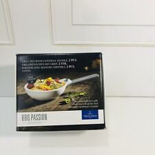 Villeroy-Boch Bbq Passion Grill Pans With Universal Handle NEW