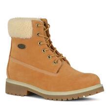 "Lugz Womens Convoy Fleece Casual 6"" Work Boot Golden/ Wheat/ Cream/ Gum Sz 7 M"