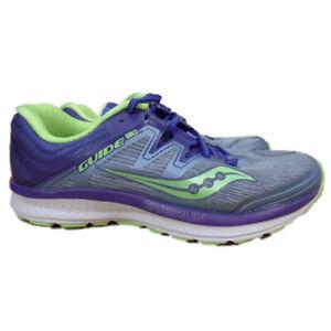 Saucony Guide ISO Women's Running Shoes EU 40 US 8.5 (S10415-1) Fog/Purple/Mint