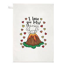 IO ti LAVA lotti asciugamani Dish Cloth-Divertente Giorno San Valentino Amore fidanzata