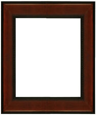 """Picture Frame Mahagony 2 1/4"""" Wide Solid Wood size 16"""" x 20"""" for your photo or"""