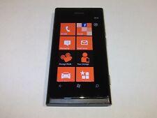Nokia Lumia 800 - 16GB-Negro (Solo Naranja-necesita liberado) Smartphone