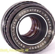 Schneider-Kreuznach XENON 1:1.9 / 50mm SHARP primo lens Pentax M42 + Accoppiamento digitale
