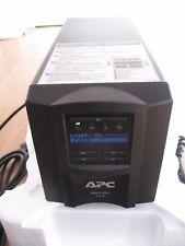 APC SMART-UPS SMT 750i VA LCD TOWER UPS WITH NEW RBC48 BATTERY & CABLES 1221