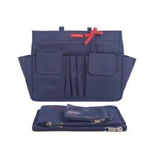 Premium Shaper Bag Insert Organiser+2 Pouches For Neverfull GM MM PM, 15 Pockets