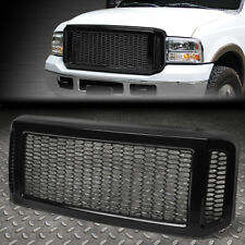 FOR 05-07 FORD SUPER DUTY BADGELESS HONEYCOMB MESH FRONT BUMPER GRILLE FRAME