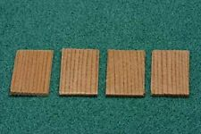 Dollhouse Miniature Red Cedar Shingles for Dollhouse or Birdhouses