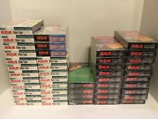 RCA VHS T-120 Tapes Brand New sealed, Lot Of 46 Tapes Total