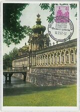 32273  MAXIMUM CARD - Architecture : GERMANY DDR 1957