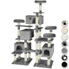 XXL Arbre à chat griffoir grattoir jouet meuble à jeux 214 cm pour chats