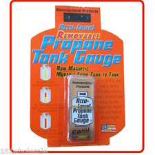 ❤ ACCU-LEVEL REMOVABLE MAGNETIC PROPANE TANK GAUGE RV & BBQ GAS TANKS Cylinder ❤