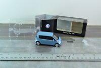 Norev Volkswagen Concept Car UP Diecast Metal Blue 1/64 Scale