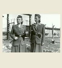 German Ss Female Guards Photo World War Ii, Prison Camp Women