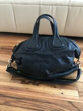 Givenchy Nightingale black leather tote bag