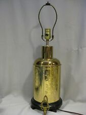 FOR SALE ATTRACTIVE BRASS PLATED FINISHED ASIAN STYLE LAMP