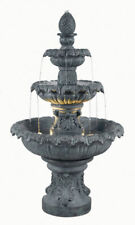 Kenroy Lighting 53200Zc Costa Brava Zinc Outdoor Floor Fountain pick up only