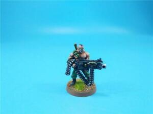 Warhammer 40K Painted Gunnery Sergeant Harker