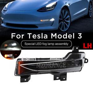 Left Front Fog Light For Tesla Model 3 17-20 Special LED Lamp Assembly Driver LH