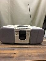 Sony CFD-21 AM/FM Radio CD Player Cassette-Corder Boombox - Tested, READ AS IS