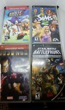Lot of 4 PSP games in his originals cases