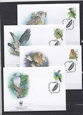 Christmas Islands 2002 - FDC - Vogels/Birds/Vögel  WWF/WNF