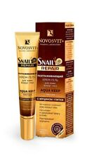 Eye Cream, Moisturizer, Novosvit Snail Repair Cream Gel