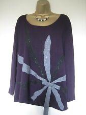 Chesca purple top size 2 UK 16-18