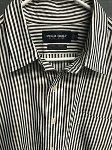 ⛳️🏇Ralph Lauren Golf Men's Long Sleeve Button Down Shirt XL Striped🏇⛳️