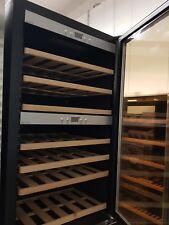 !B-WARE!CASO WineMaster66 Weinkühlschrank, 66 Flaschen, EEK:A, Schwarz/Edelstahl