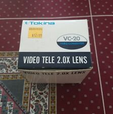 Tokina Video Tele Converter VC 2.0x VC-20 new