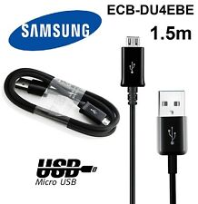 Genuine SAMSUNG galaxy S4 S6 S7 Micro USB 1.5M Fast charge cable cord ECB-DU4EBE