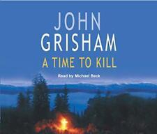 a time to kill POR JOHN GRISHAM Audio CD LIBRO 9781856869928 NUEVO