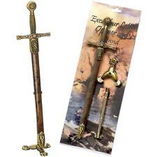 Excalibur Schwert Brieföffner & Schwertscheide + Ständer - Qualitätsstahl von