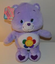 Peluche BISOUNOURS Harmony care Bears COLLECTOR 25cm NEUF 2003 Play Along