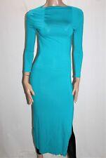 ICE Brand Jade 3/4 Sleeve Bodycon Maxi Dress Size S BNWT #TE113