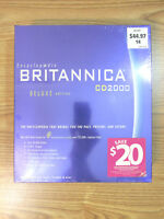 ENCYCLOPEDIA BRITANNICA CD2000 DELUXE EDITION CD2000 WINDOWS