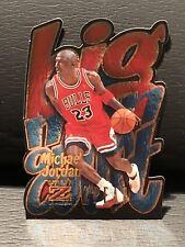 Michael Jordan 1996-97 Skybox Z Force Big Man On Court ZPeat #4 Rare Insert