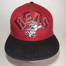 Cincinnati Reds New Era SnapBack Hat Red Black 100% Cotton MLB NEW