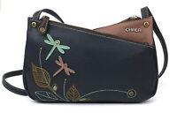 Chala Dragonfly Handbag Vegan Leather Animal Purse Adjustable Strap