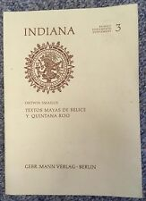 """Very good copy of Ortwin Smailus's (1975) """"Textos Maya de Belice y Quintana Roo"""""""