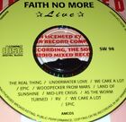 Faith No More Live CD Very Rare The Real Thing Underwater Love We Care Lot Epic