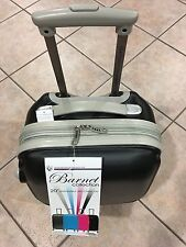 20'' Barnet Expandable Hardside Carry On With 360 4-Wheel System: Black