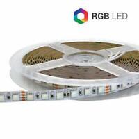 STRIP STRISCIA LED 420SMD5050 RGB 100W IP65 24V SUPER BRIGHT ULTRA LUMINOSA